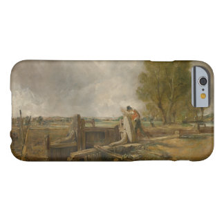John Constable - Study of a Boat Passing a Lock Barely There iPhone 6 Case