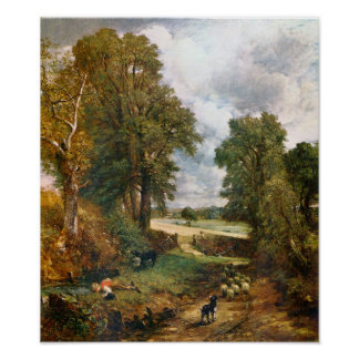 John Constable - The Cornfield of 1826 Poster