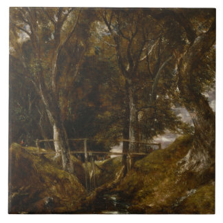 John Constable - The Dell at Helmingham Park Ceramic Tiles