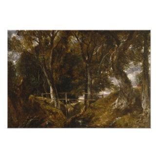 John Constable - The Dell at Helmingham Park Photo Print