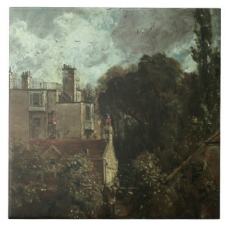 John Constable - The Grove, or the Admiral's House Ceramic Tile