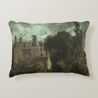 John Constable - The Grove, or the Admiral's House Decorative Pillow