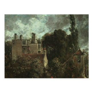 John Constable - The Grove, or the Admiral's House Postcard