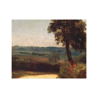 John Constable - The Lane from East Bergholt Canvas Print