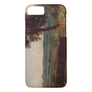 John Constable - The Lane from East Bergholt iPhone 7 Case