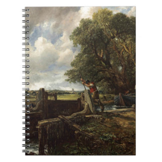 John Constable - The Lock - Countryside Landscape Notebook
