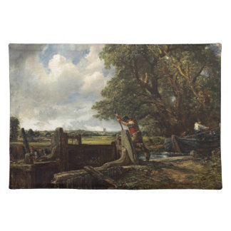John Constable - The Lock - Countryside Landscape Placemat