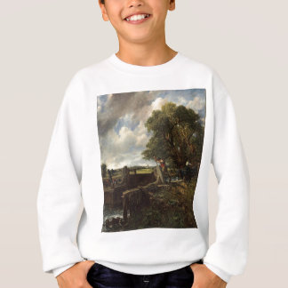John Constable - The Lock - Countryside Landscape Sweatshirt