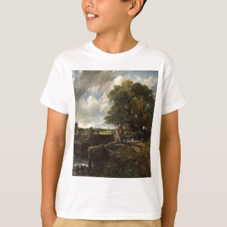 John Constable - The Lock - Countryside Landscape T-Shirt