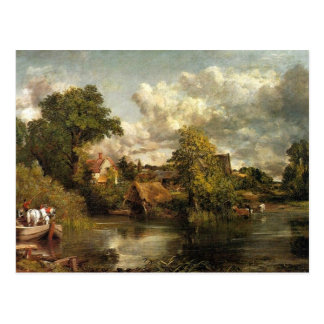 John Constable - The White Horse artwork Postcard