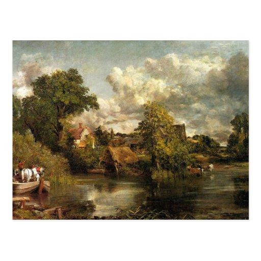 John Constable - The White Horse artwork Post Cards