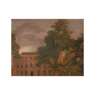 John Constable - West Lodge, East Bergholt Canvas Print