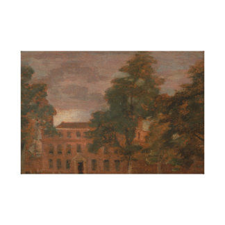 John Constable - West Lodge, East Bergholt Canvas Print