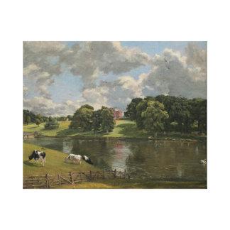 John Constable - Wivenhoe Park, Essex Canvas Print