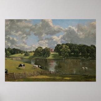 John Constable - Wivenhoe Park, Essex Poster
