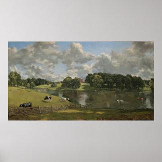 John Constable Wivenhoe Park Essex Poster