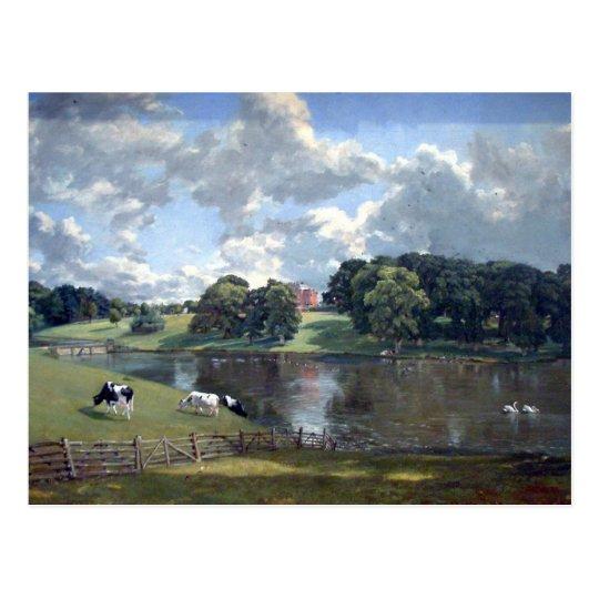 John Constable - Wivenhoe Park Postcard