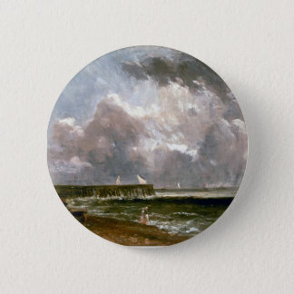 John Constable- Yarmouth Pier 2 Inch Round Button