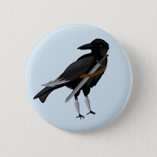 John Crow Knows Nothing 2 Inch Round Button