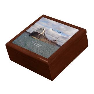 John D. Leitch keepsake box