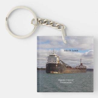 John D. Leitch key chain