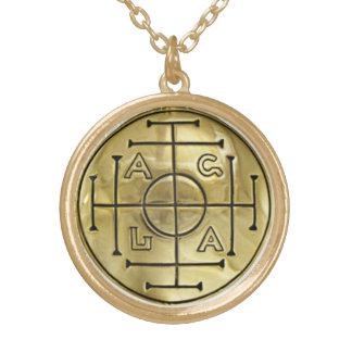John Dee Enochian AGLA Pendant and Chain