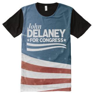John Delaney All-Over-Print T-Shirt