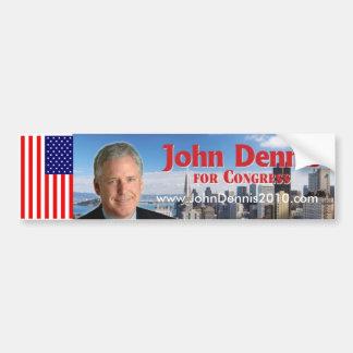 John Dennis Bumper Sticker 1