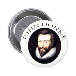 John Donne 2 Inch Round Button
