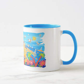 John Dyer Cornish art mug of St Ives in Cornwall