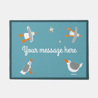 John Dyer Cornish seagull doormat