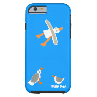 John Dyer iPhone 6 Cornish Seagulls Case Tough iPhone 6 Case