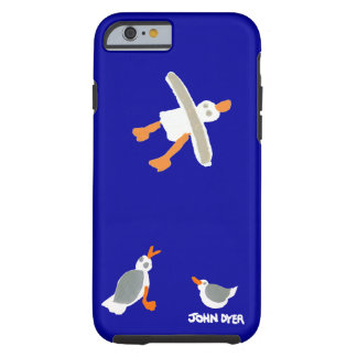 John Dyer iPhone Case Seagulls Cornwall Tough iPhone 6 Case