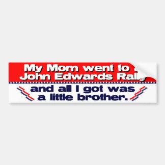 John Edwards Campaign Rally Bumper Sticker
