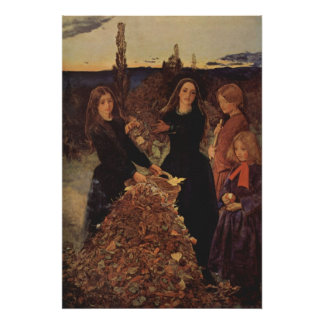 John Everett Millais - Autumn Poster
