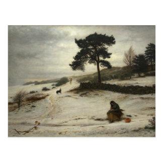 John Everett Millais - Blow Blow Thou Winter Wind Postcard
