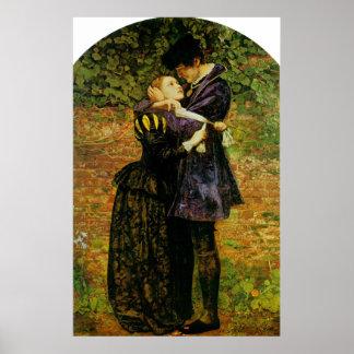John Everett Millais Isabella Huguenot Poster