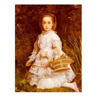 John Everett Millais- Portrait Of Gracia Lees Postcard