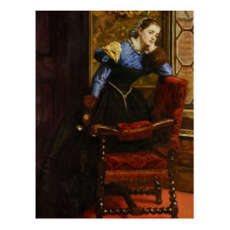 John Everett Millais- Swallow, Swallow Postcard