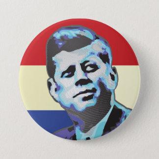 John F Kennedy 3 Inch Round Button