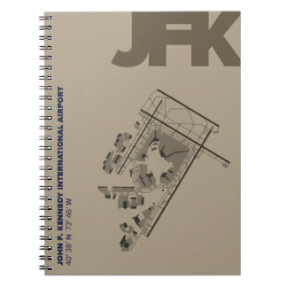 John F. Kennedy Airport (JFK) Diagram Notebook