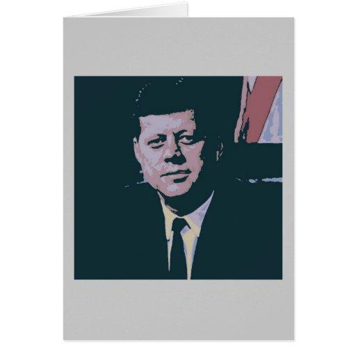 John F. Kennedy Card