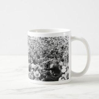 John F Kennedy JFK Fort Worth Rally '63 Coffee Mugs
