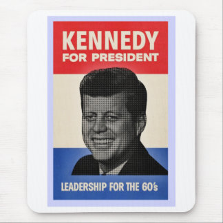 John F Kennedy Mouse Pad