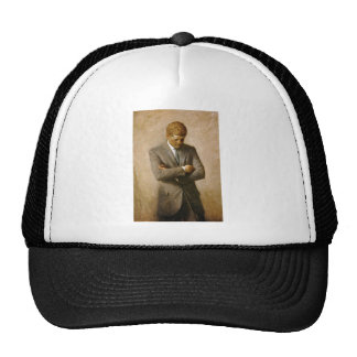 John F Kennedy Official Portrait by Aaron Shikler Mesh Hat