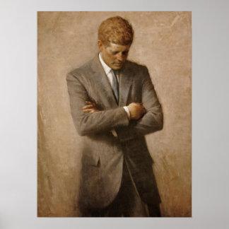 John F. Kennedy Official Portrait Poster