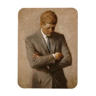 John F. Kennedy Official Portrait Rectangular Photo Magnet