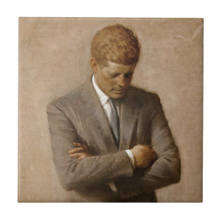 John F. Kennedy Official White House Portrait Tile
