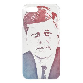 John F. Kennedy Pop Art Portrait iPhone 7 Case