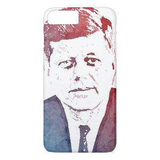 John F. Kennedy Pop Art Portrait iPhone 7 Plus Case